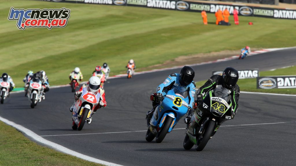BSB Final Brands Sun Sharni Pinfold out in front