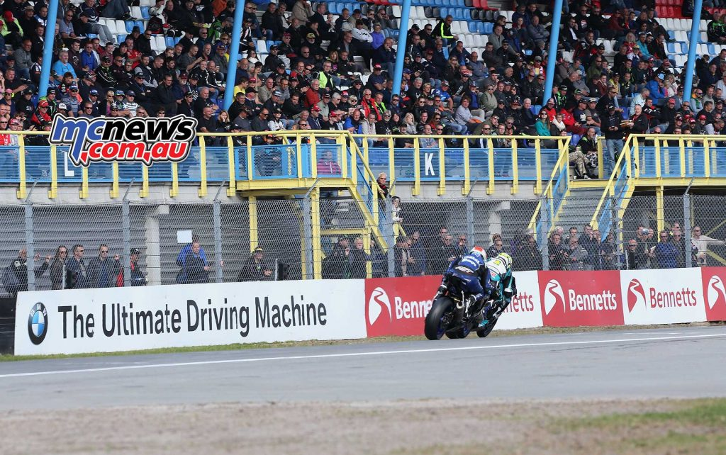 BSB Rnd Assen Kennedy chasing Seeley ImageDyeomans