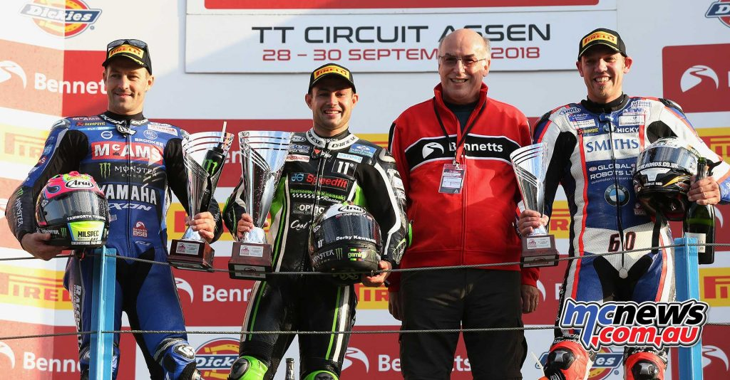 BSB Rnd Assen Superbike Podium Race ImageDyeomans