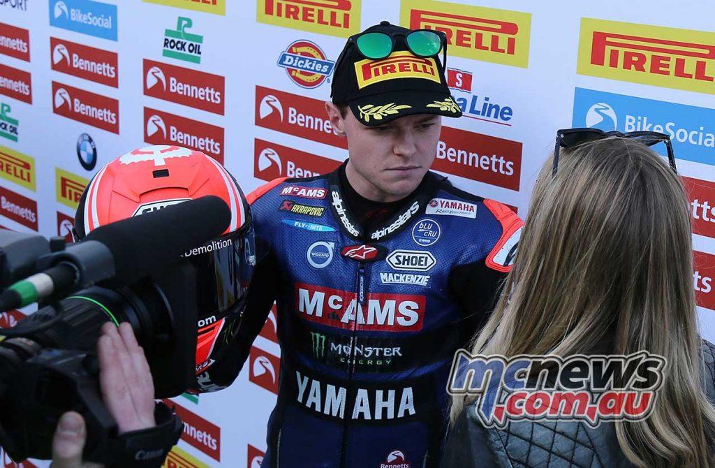 BSB Rnd Assen Tarran MacKenzie Eurosport Interview ImageDyeomans