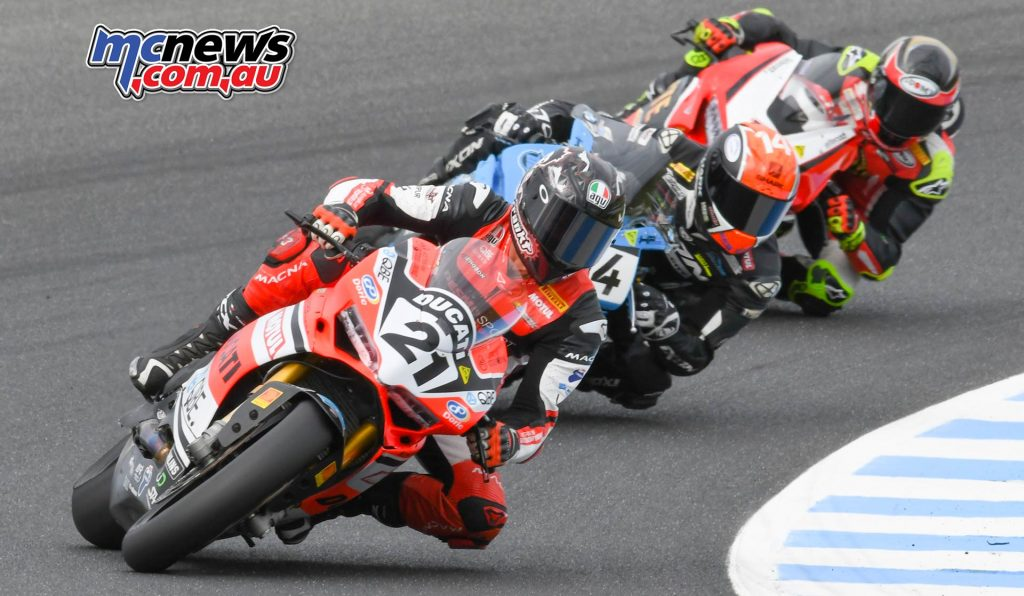 MotoGP ASBK CRw Bayliss Herfoss Allerton