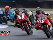 MotoGP ASBK Supports TBG Superbike Race Start Bayliss Herfoss