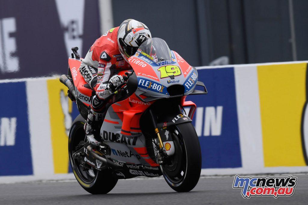 MotoGP Australia Bautista UC