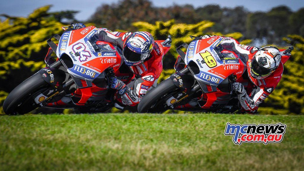 MotoGP Australia Dovizioso Bautista