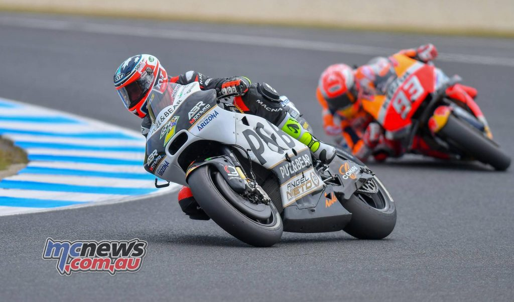 MotoGP Australia Mike Jones