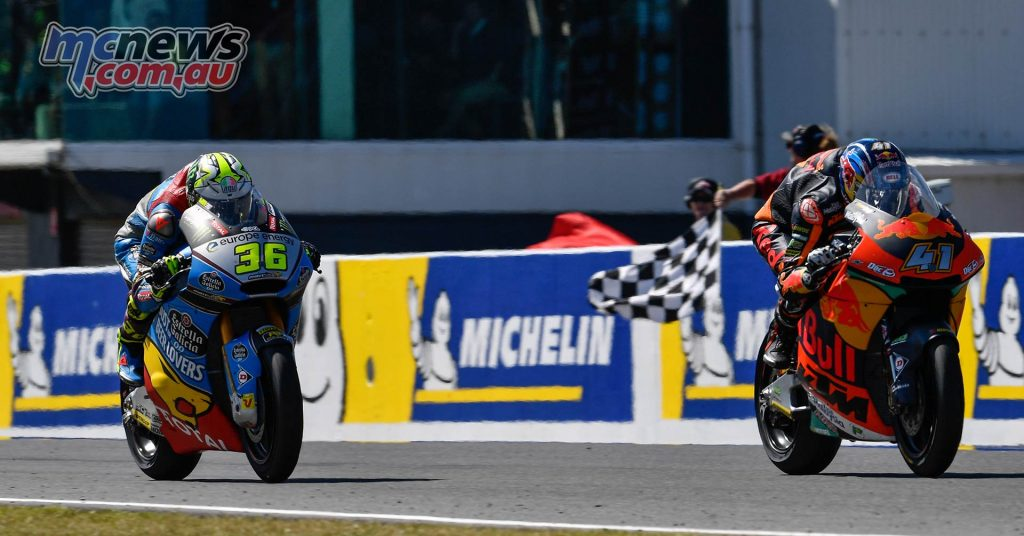MotoGP Australia Moto Binder Mir
