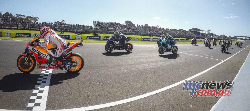 MotoGP Australia Start