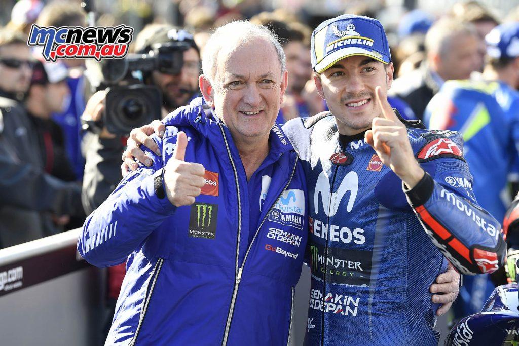 MotoGP Australia Vinales Forcada