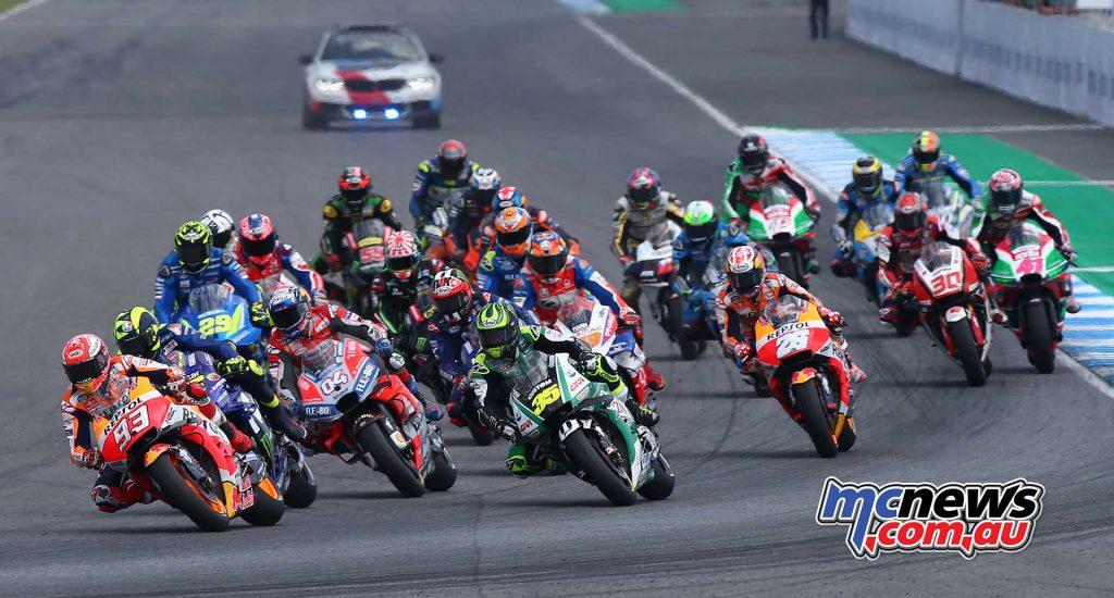 MotoGP Rnd Thailand GPstart GP AN
