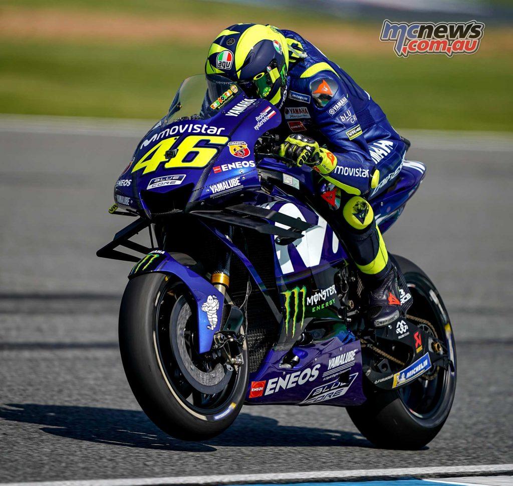 MotoGP Thailand Fri Rossi Fairing