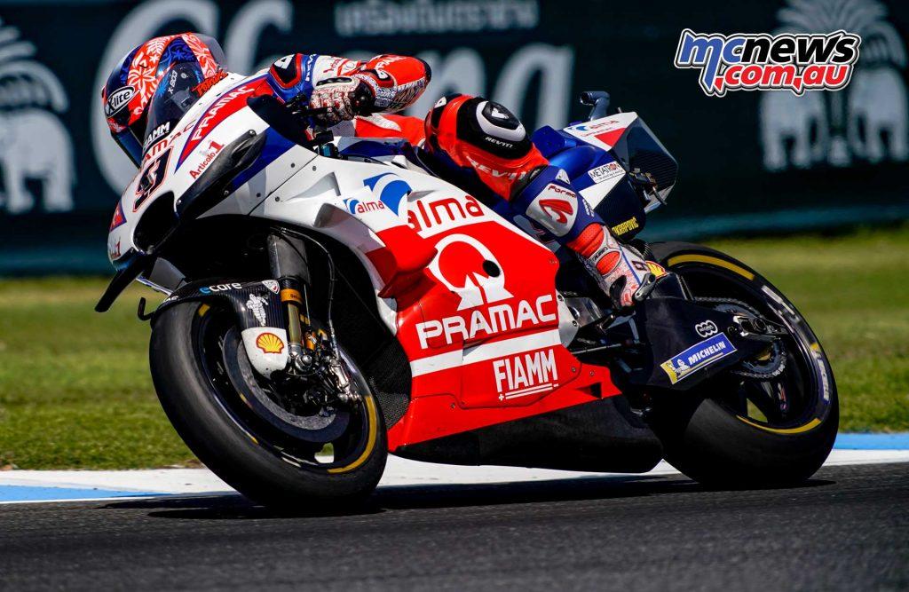 MotoGP Thailand QP Danilo Petrucci