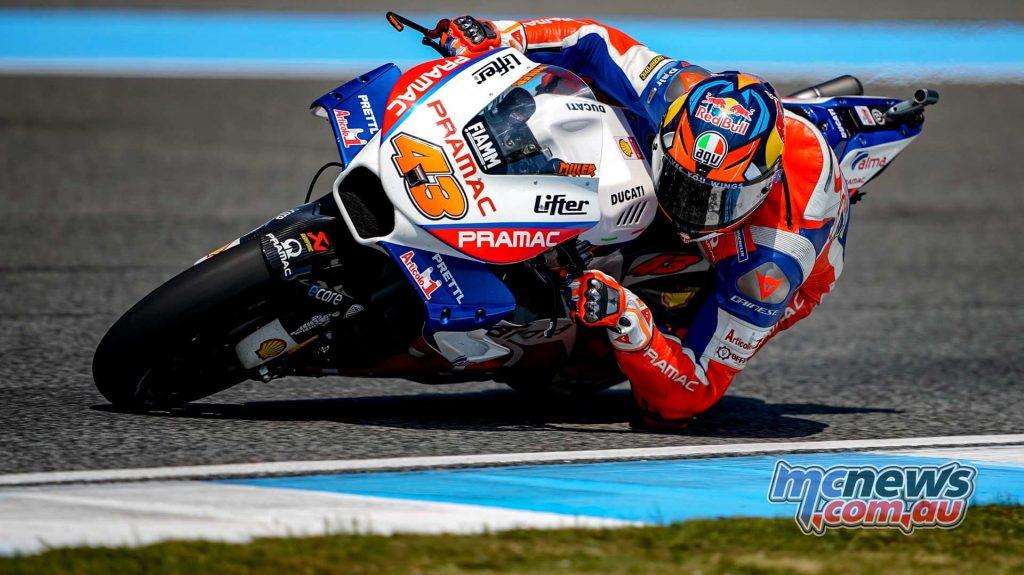 MotoGP Thailand QP Jack Miller