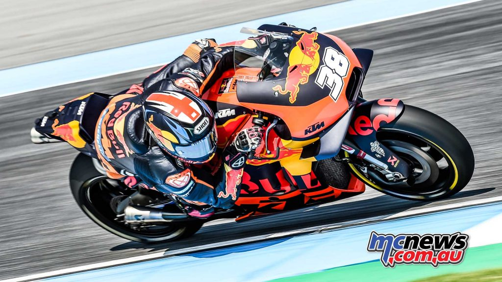 MotogGP Rnd Thailand Bradley Smith
