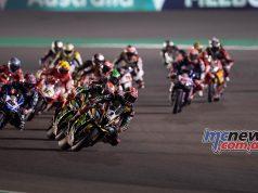 WSBK Losail Race Start Rea