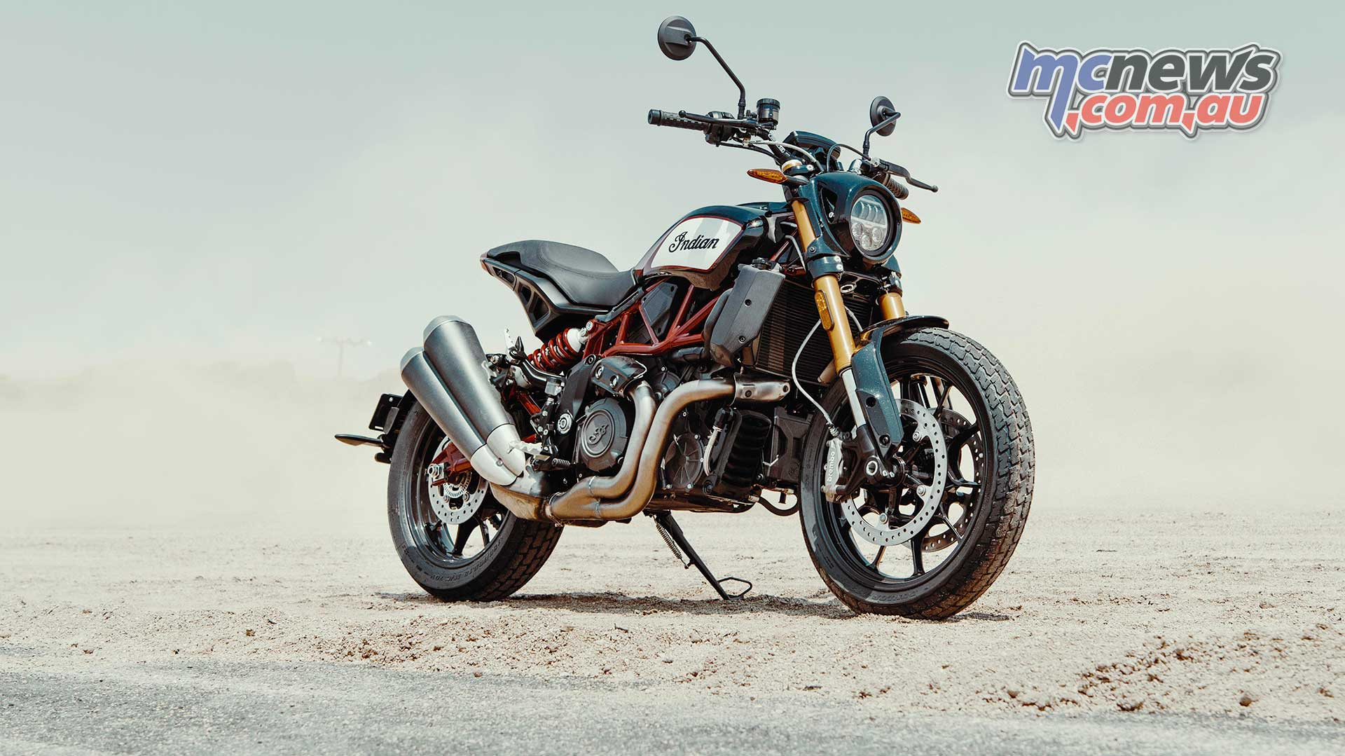 Indian Ftr 1200 To Start At 19 995 In Australia Mcnews