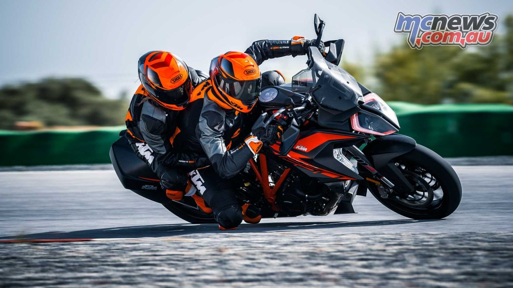 KTM Super Duke GT Action