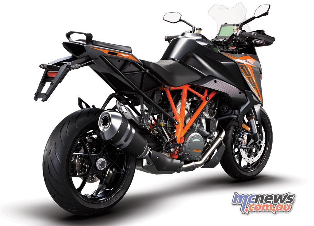 KTM Super Duke GT Black