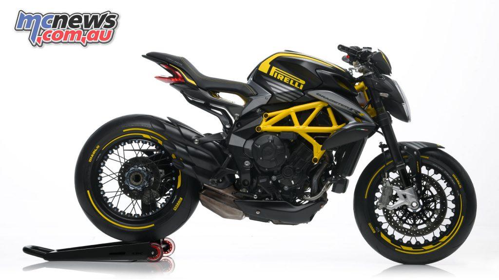 MV Agusta Dragster RR Pirelli