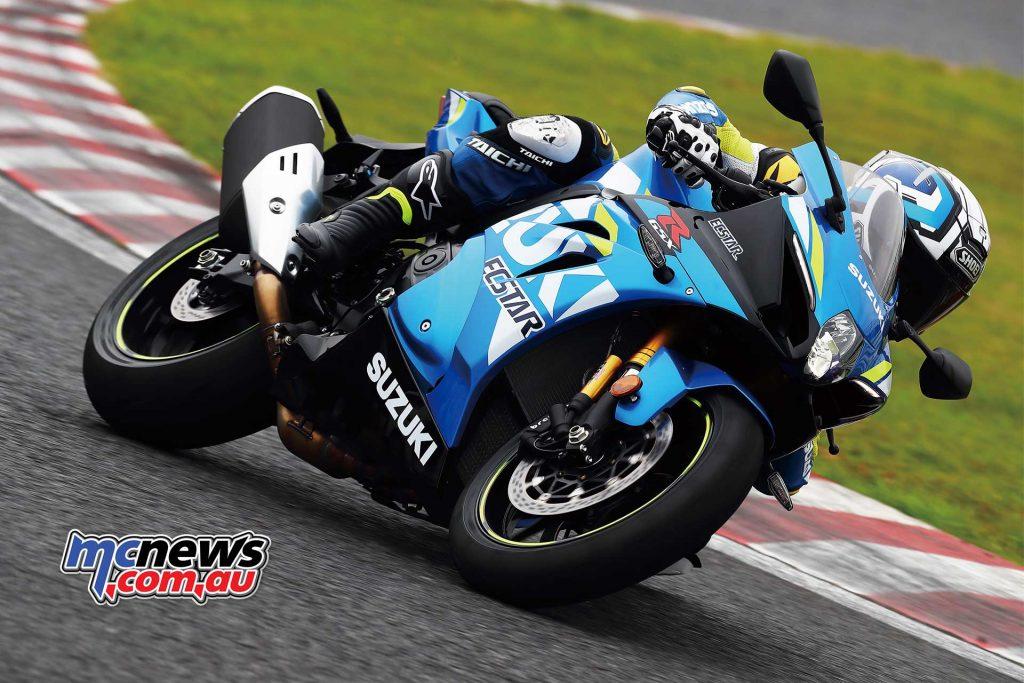 Suzuki GSX RR Action