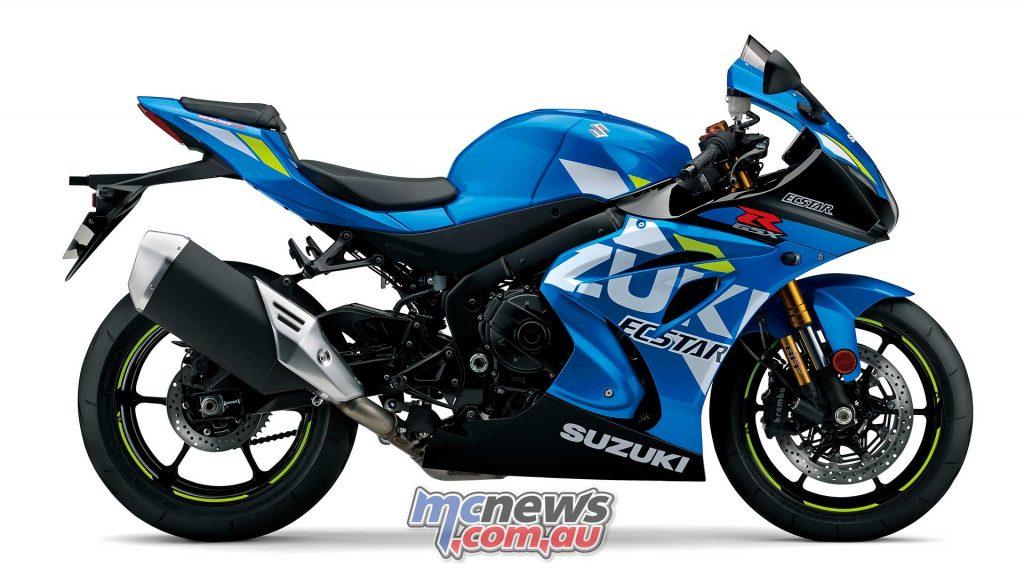 Suzuki GSX RR Blue