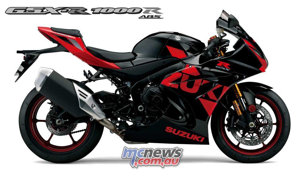 Suzuki GSX RR Red