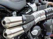 Triumph Street Scrambler Pipes
