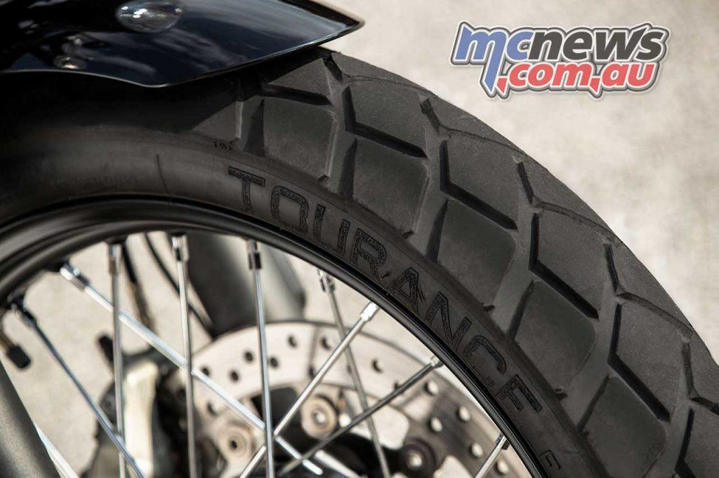 Triumph Street Scrambler Tyres