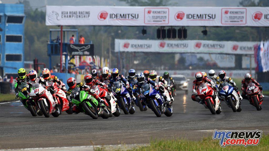 ARRC Rnd Sentul Supersport Race Start