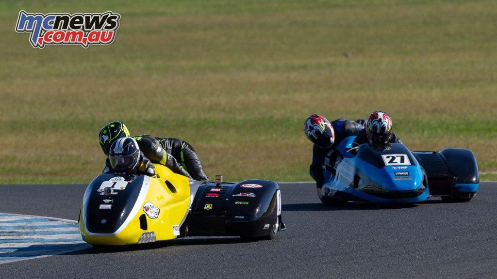 ASBK Rnd Phillip Island TBG Sidecars R Sat