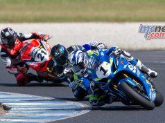 ASBK TBG Rnd Phillip Island Superbike Waters Maxwell Bayliss