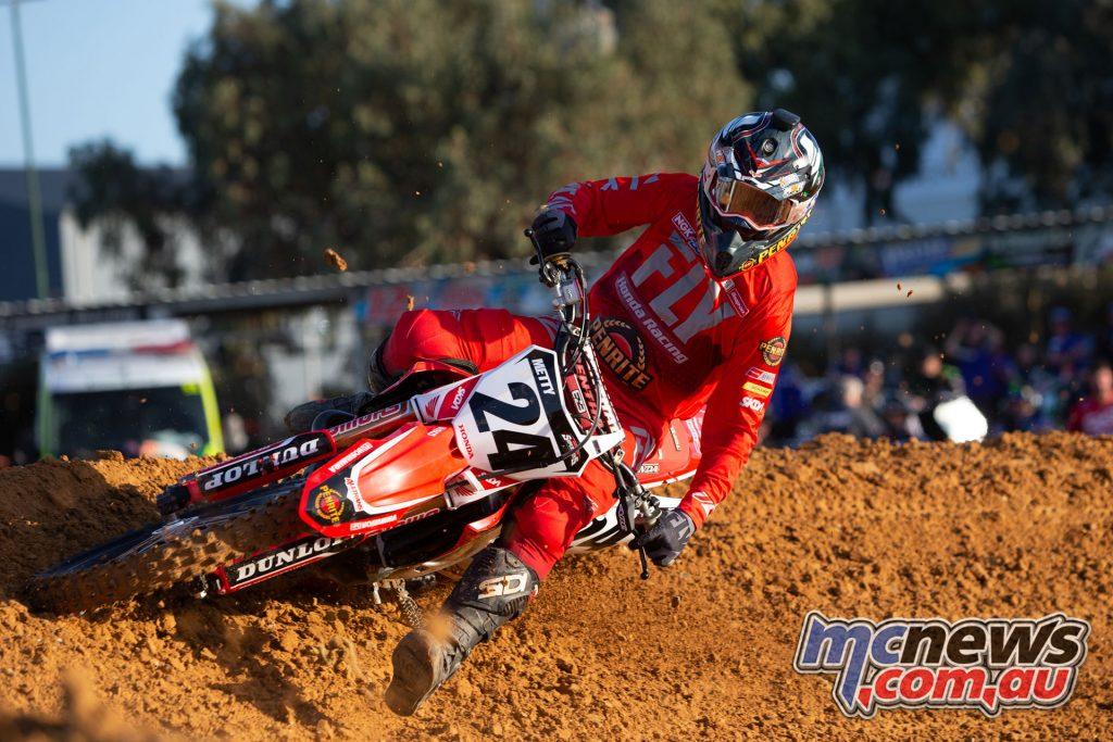 Australian SX Port Adelaide TBG Brett Metcalfe TBG