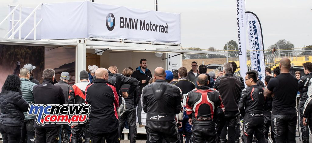 BMW HP Race Briefing