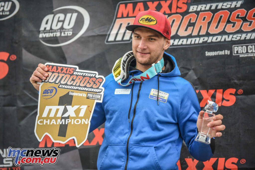 British MX Championship Cadders Hill Evgeny Bobryshev