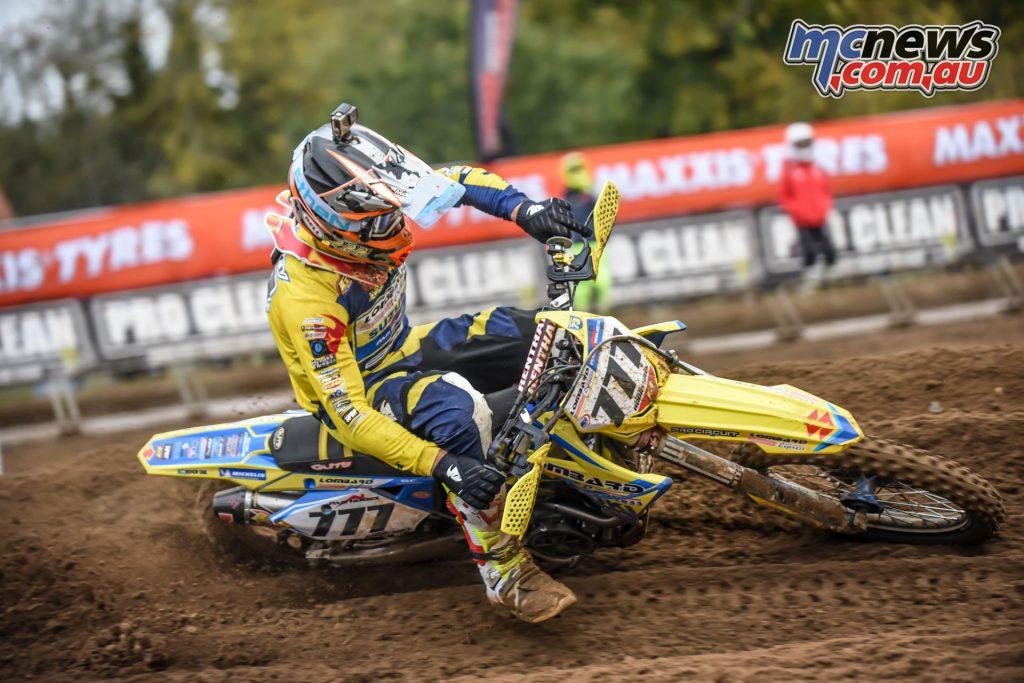 British MX Championship Cadders Hill Evgeny Gobryshev