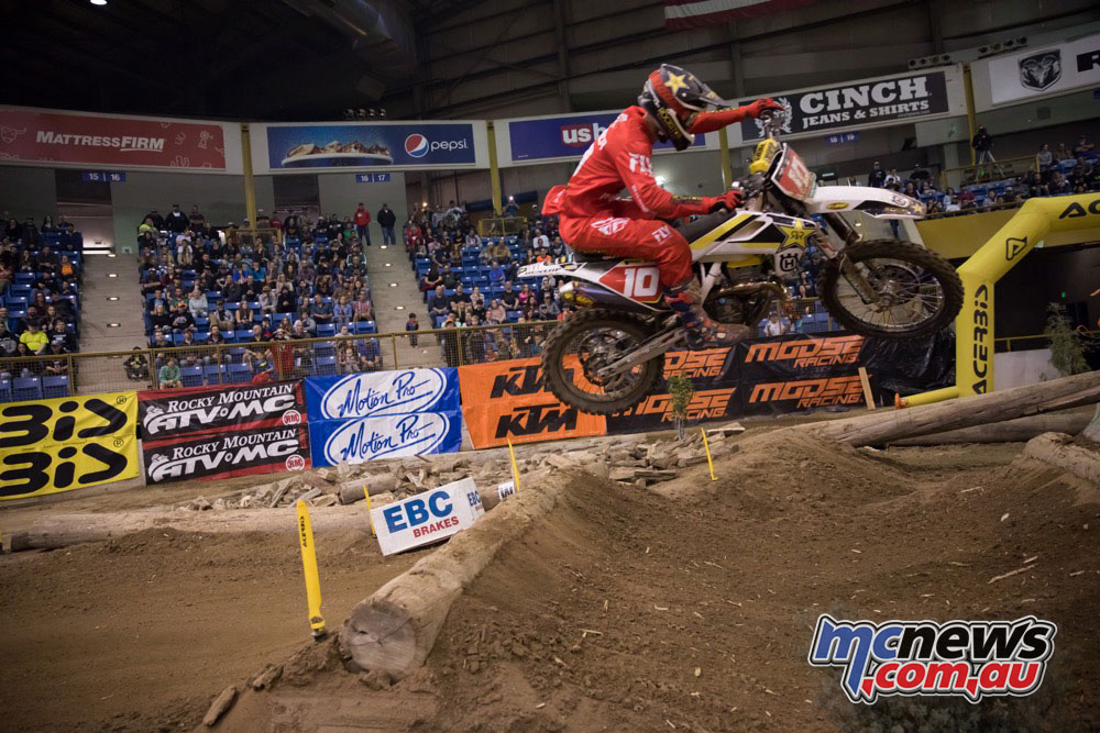 Colton Haaker took top honors at the Denver EnduroCross