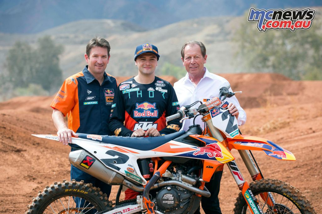 Cooper Webb to KTM Factory Racing Kiska