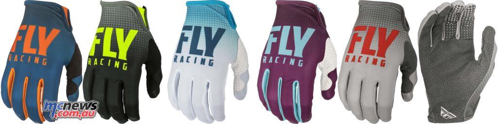 Fly Racing Lite Hydrogen Racewear FLY Glove Lite