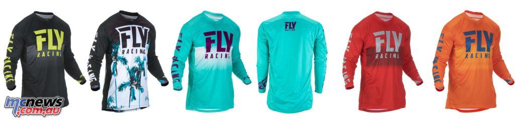 Fly Racing Lite Hydrogen Racewear Jersey Lite