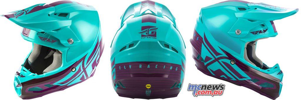 Fly Racing Lite Hydrogen Racewear FLY Helmet Shield