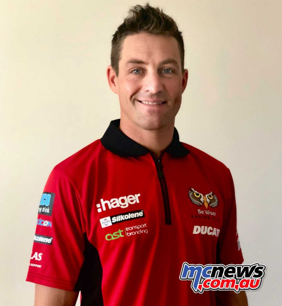 Josh Brookes Ducati