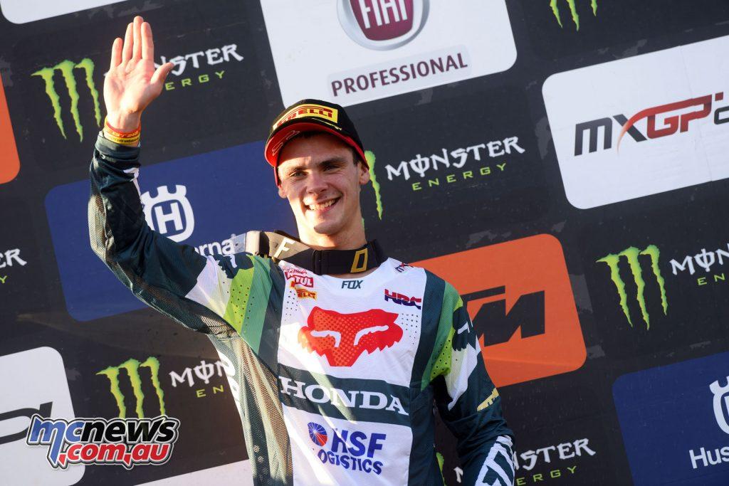 MXGP Rnd Italy Gajser podium