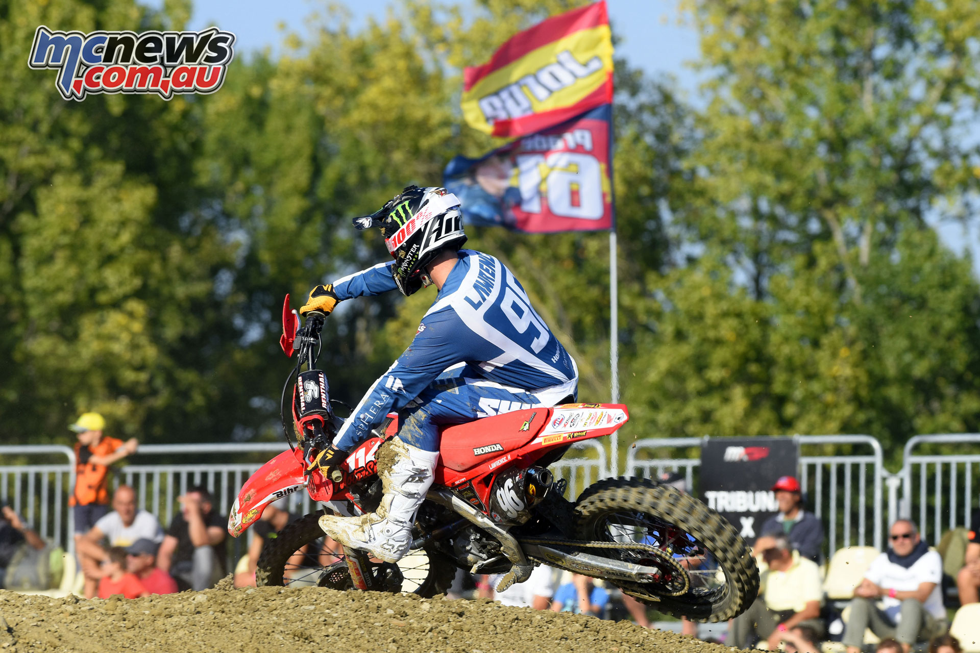 MXGP Rnd Italy Lawrence action