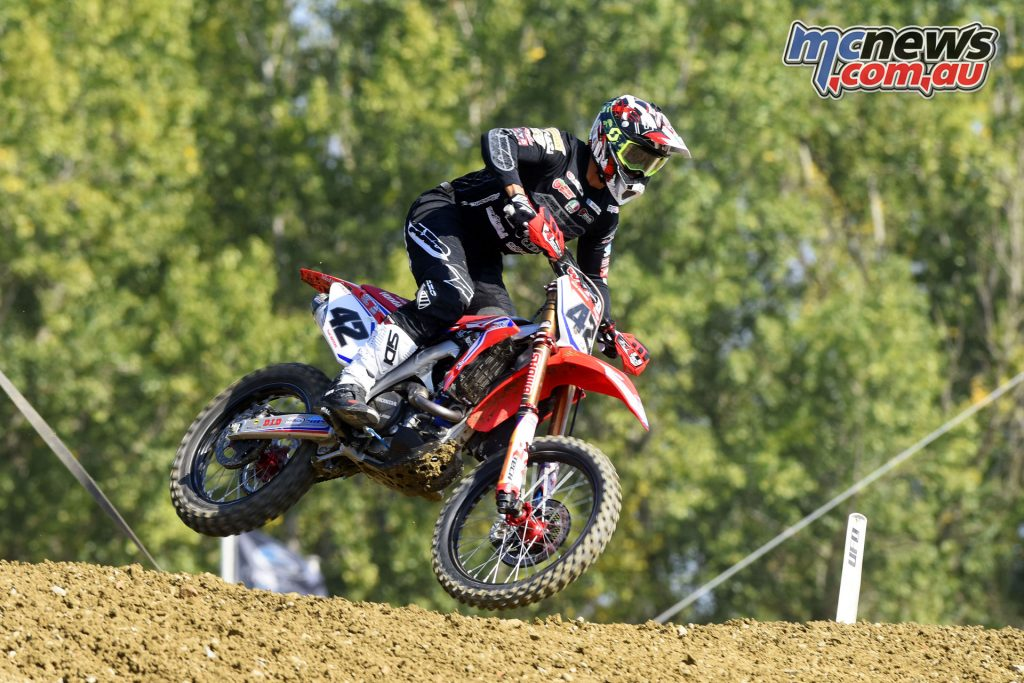 MXGP Rnd Italy Waters action