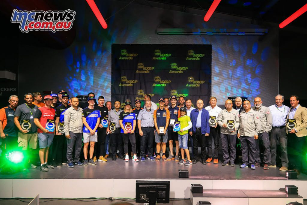 MXGP Awards Ceremony Imola
