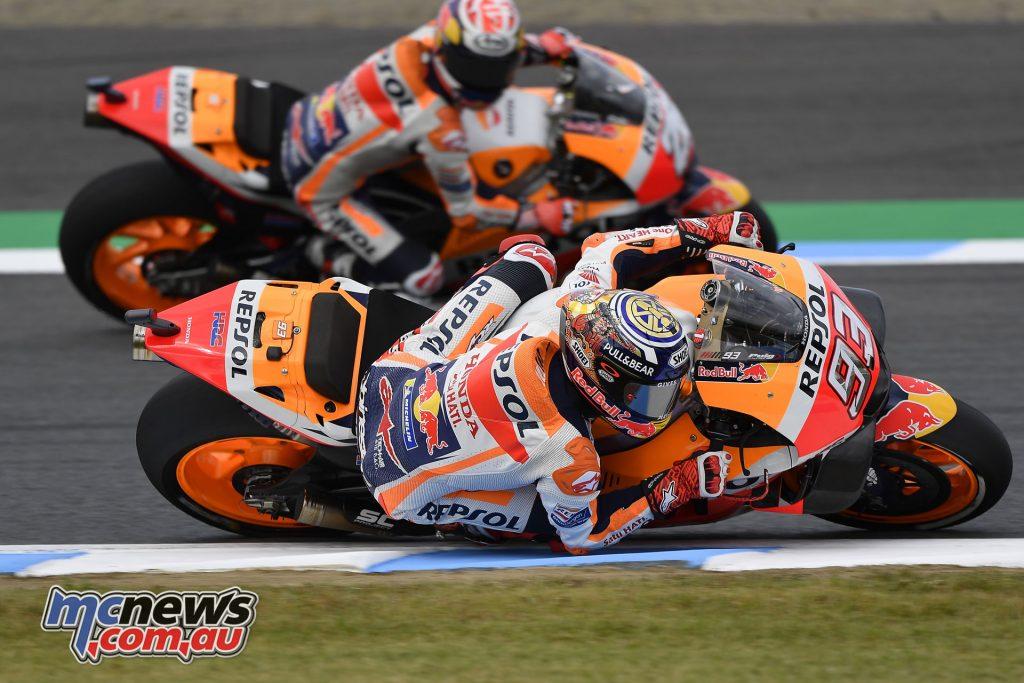MotoGP Japan Fri marquez and pedrosa japanese gp