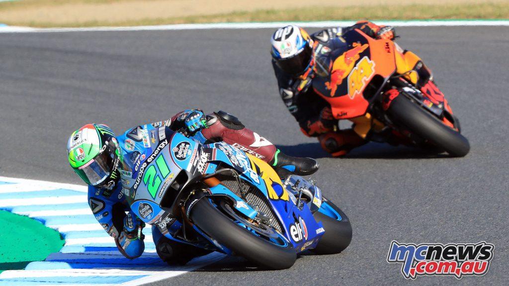 MotoGP Japan Motegi Sun Franco Morbidelli