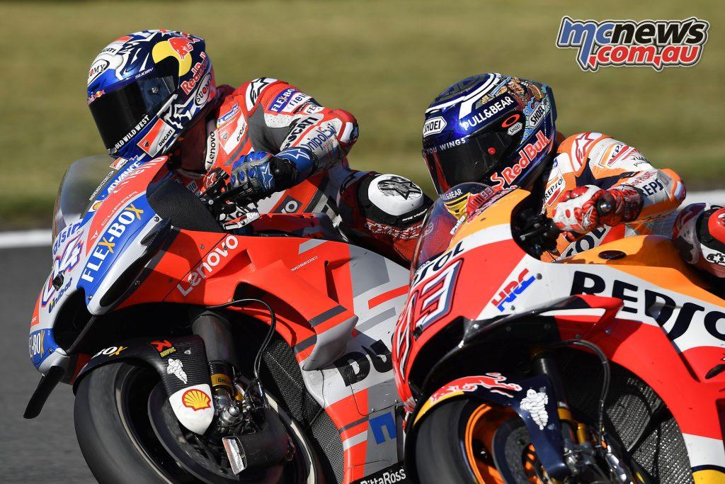 MotoGP Japan Sun Dovizioso Marquez