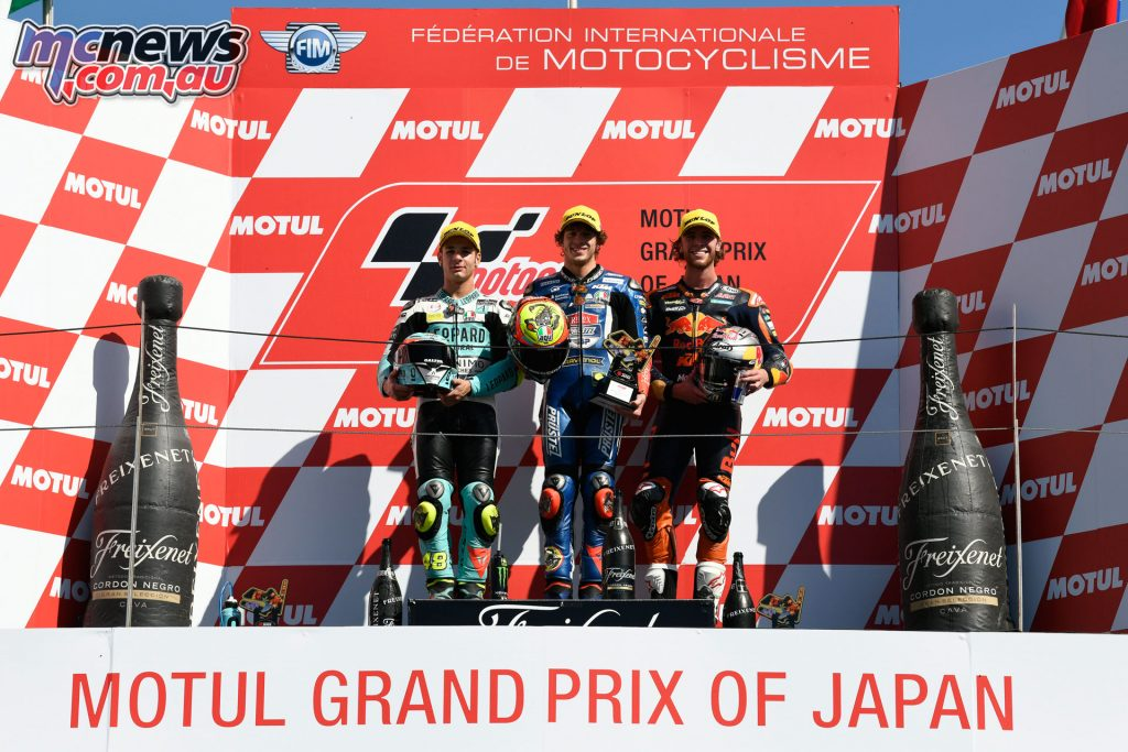 MotoGP Japan Sun Moto Podium