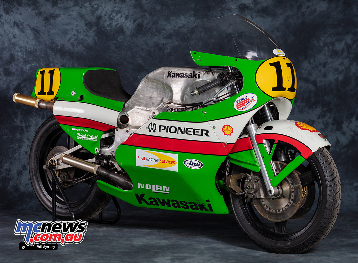 Kawasaki KR500 Grand Prix Motorcycles   A Short History   MCNews com au