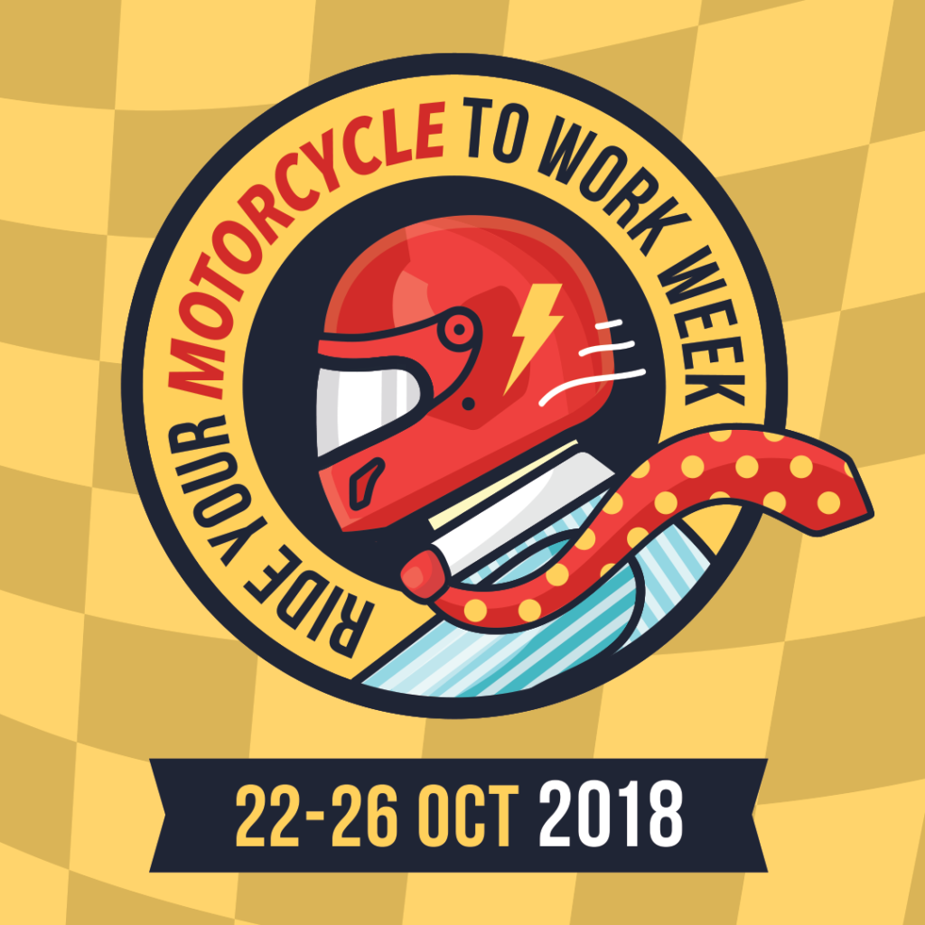 Ride Your Motorcycle to Work Week October